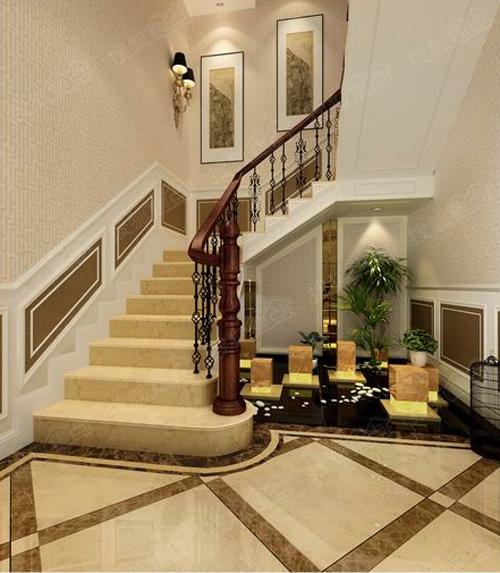 联排别墅楼梯景观