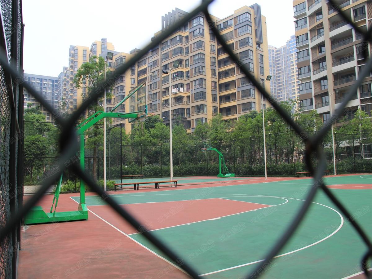 勤诚达新界实景图——社区篮球场