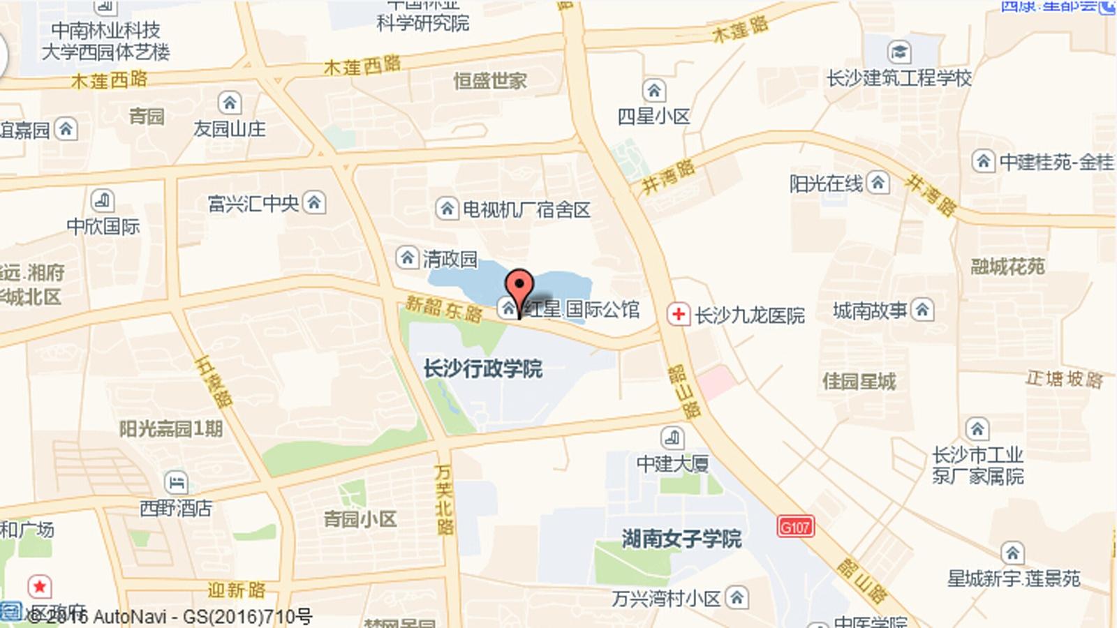 红星国际公馆楼盘交通图
