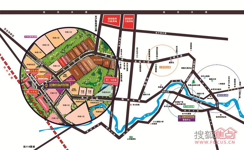 恩施市地图全图高清版