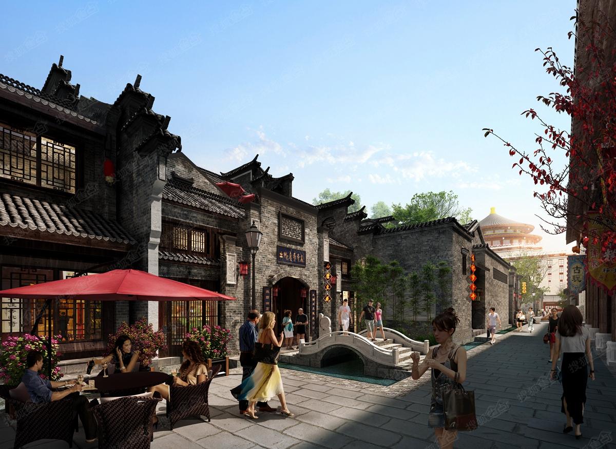 袭汇千年桂林内街透视图2-桂林搜狐焦点网
