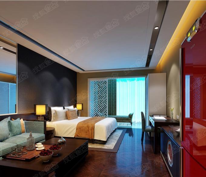 酒店式公寓样板间—卧室