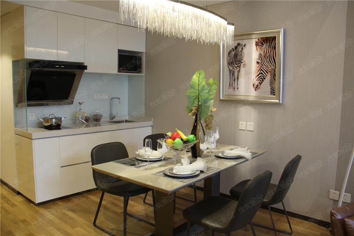 昆明广场悦中心loft国际公寓样板间—厨房