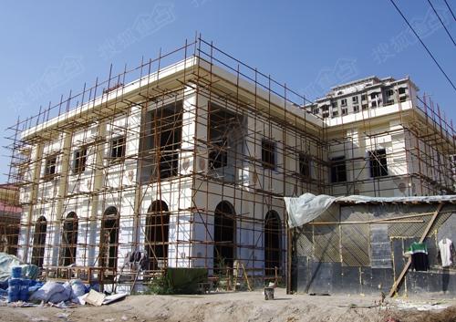 2014-10-22别墅施工进度