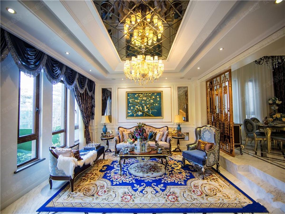 府邸庄园样板房客厅