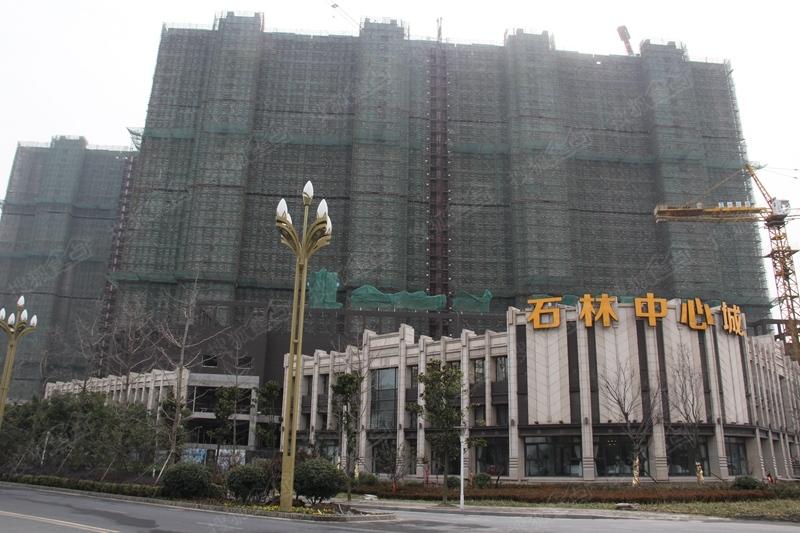 石林中心城施工进度图(2014.12.11)