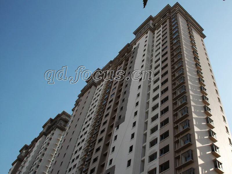 胶州湾财富中心财富公寓实景图-青岛搜狐焦点网