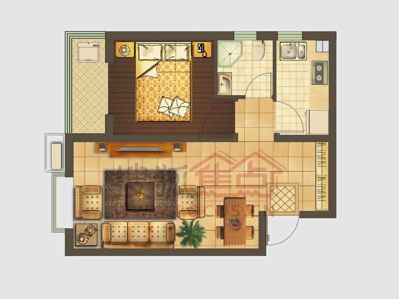 85平方平面图自建房