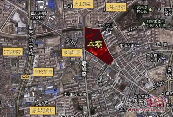 康太源尚誉交通区位图-青岛搜狐焦点网