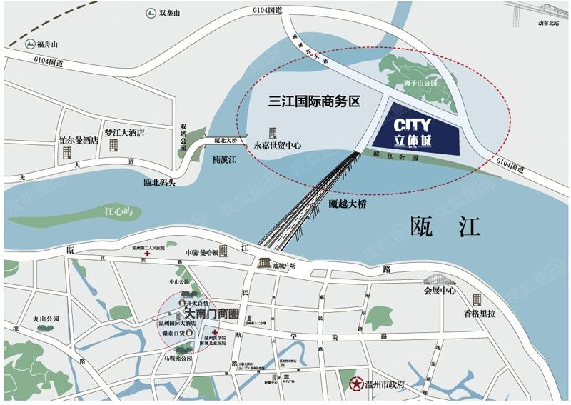 温州立体城规划图