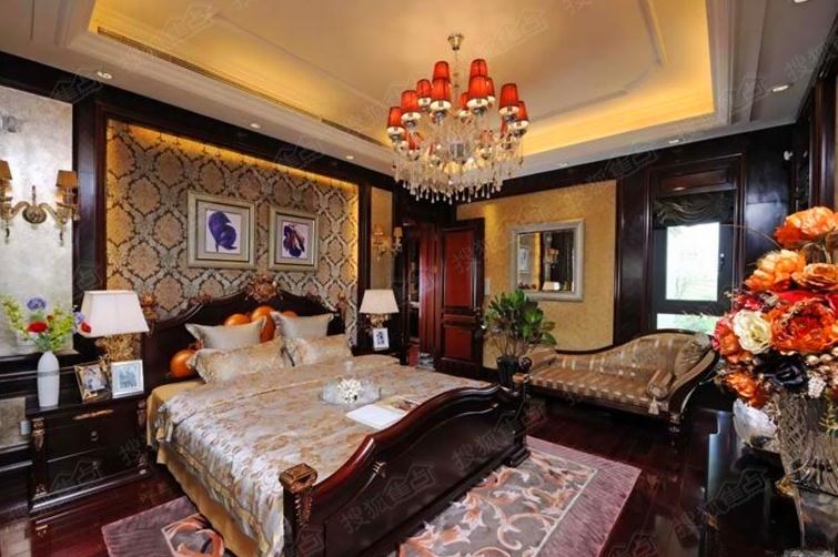 品尊国际样板间23号别墅卧室-扬州搜狐焦点网