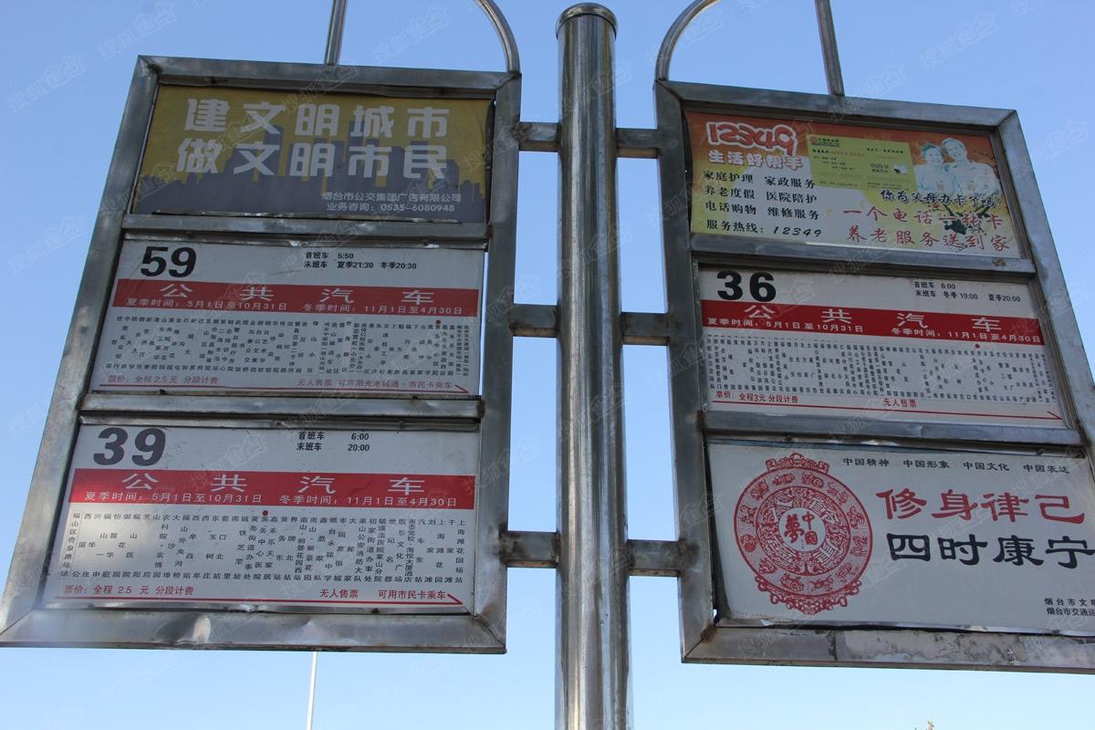 红星国际广场周边配套图—公交线路-烟台搜狐焦点网