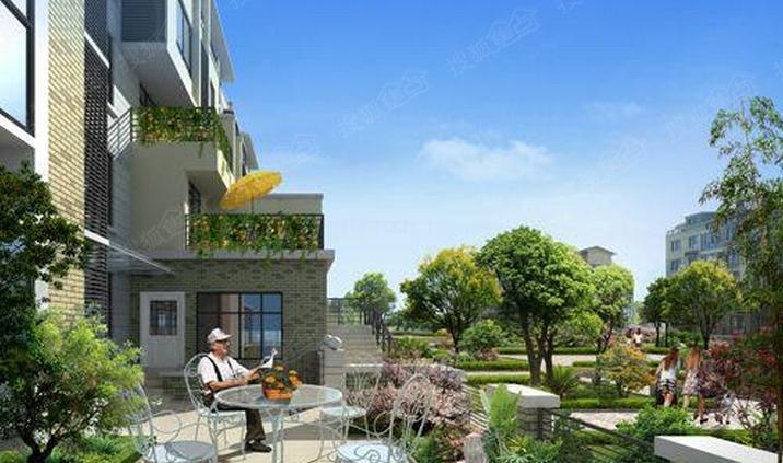 中森意墅蓝山景观设计体现绿化环境空间的丰富多样和鲜明的层次感
