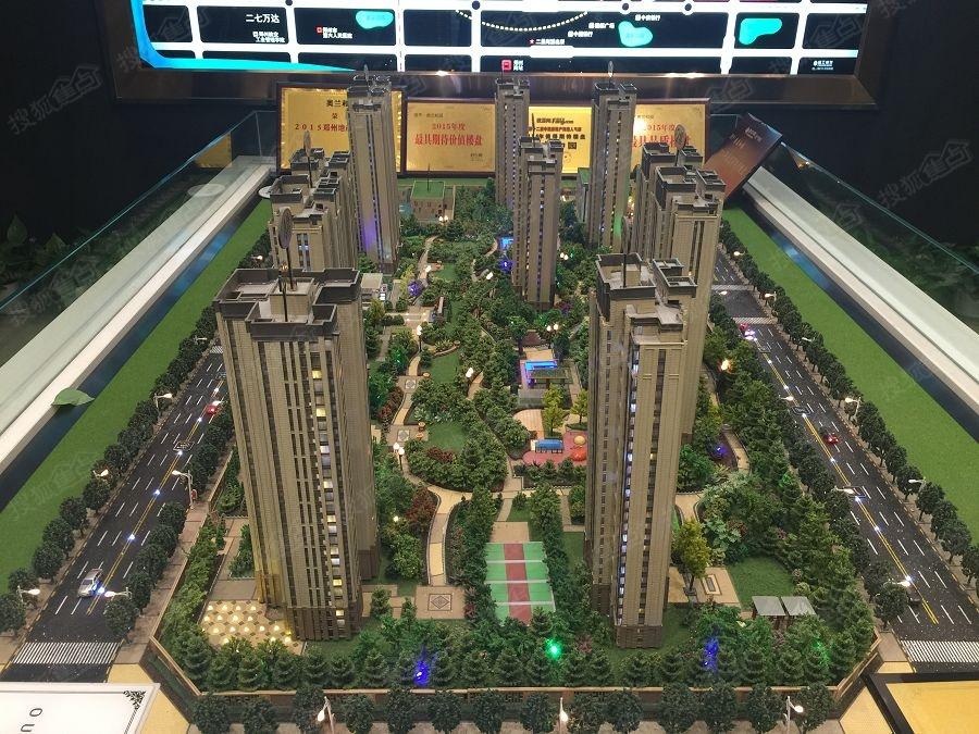 奥兰和园实景图-40%绿化率-郑州搜狐焦点网