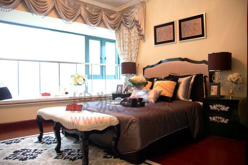 郑州恒大名都样板房-卧室